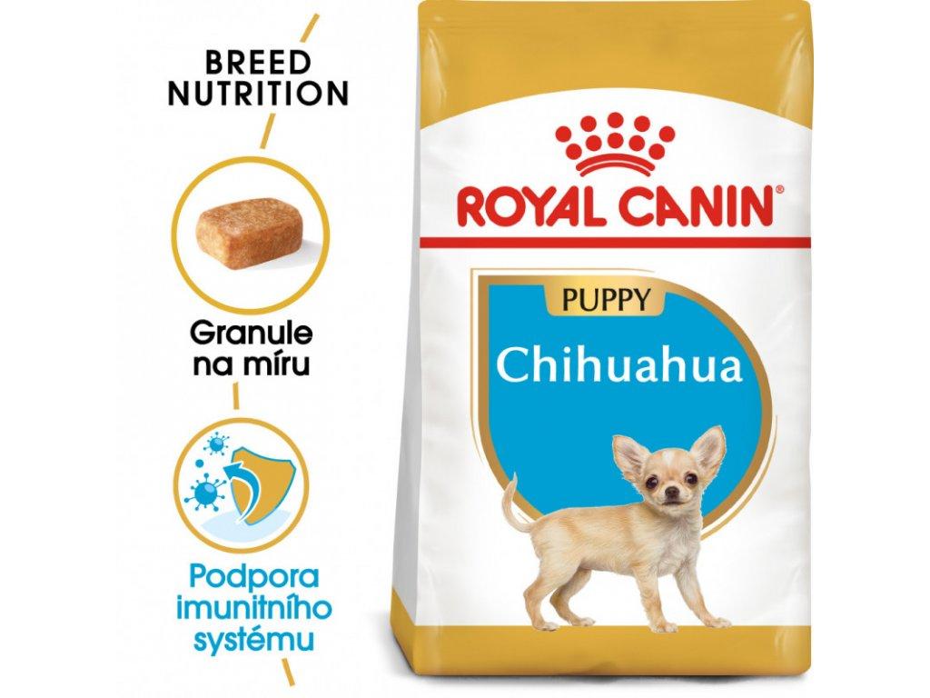 Chihuahua Puppy granule pro štěně čivavy 1500g