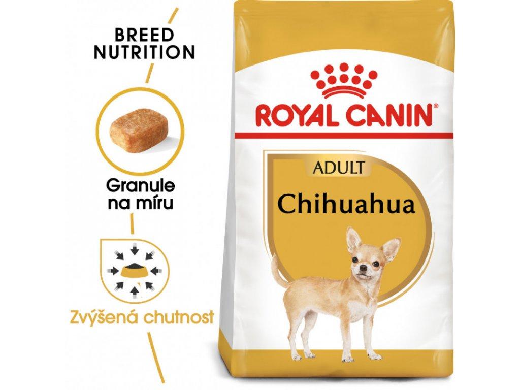 Chihuahua Adult granule pro dospělou čivavu 500g