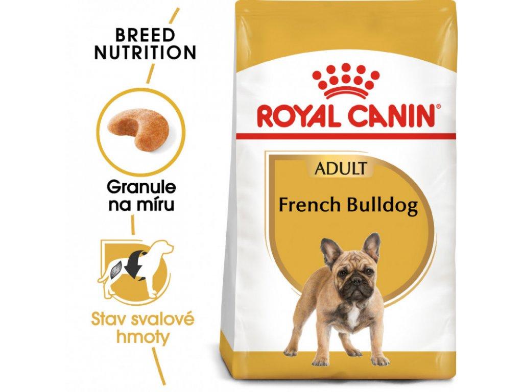 French Bulldog Adult granule pro dospělého francouzského buldočka 1500g