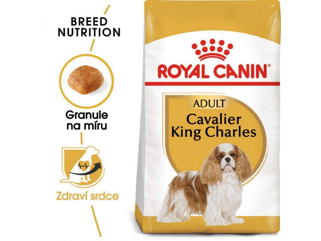 Cavalier King Charles Adult granule pro dospělého kavalír king charles španěl 1500g