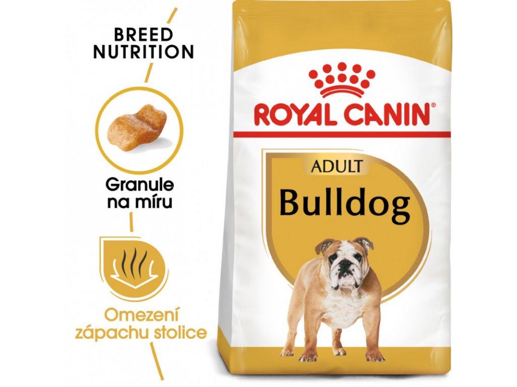 Bulldog Adult granule pro dospělého buldoka 3000g