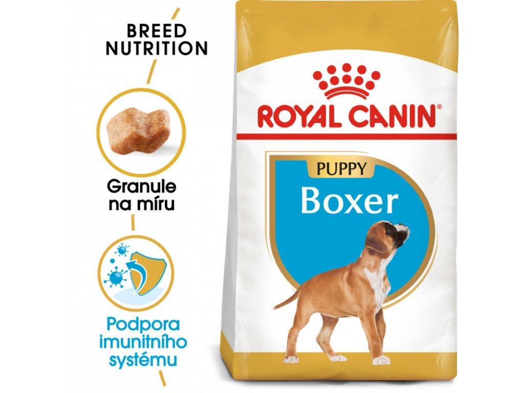 Boxer Puppy granule pro štěně boxera 3000g