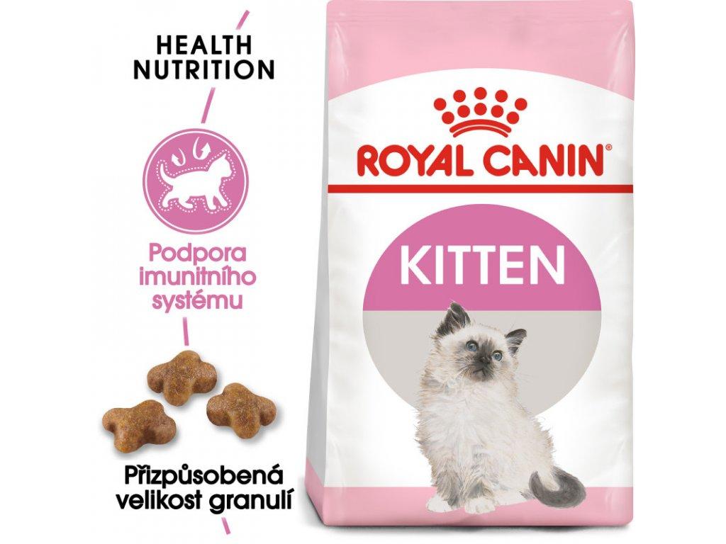 Kitten granule pro koťata 2000g