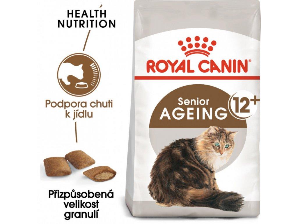 Ageing 12+ granule pro staré kočky 400g