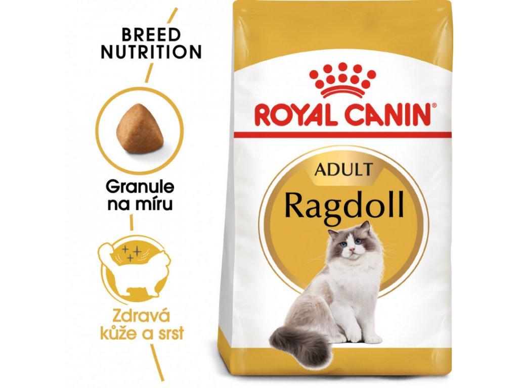 Ragdoll Adult granule pro ragdoll kočky 2000g