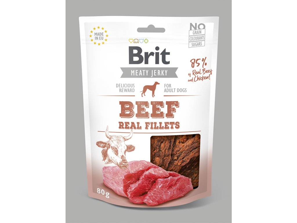REAL FILLETS beef 80g