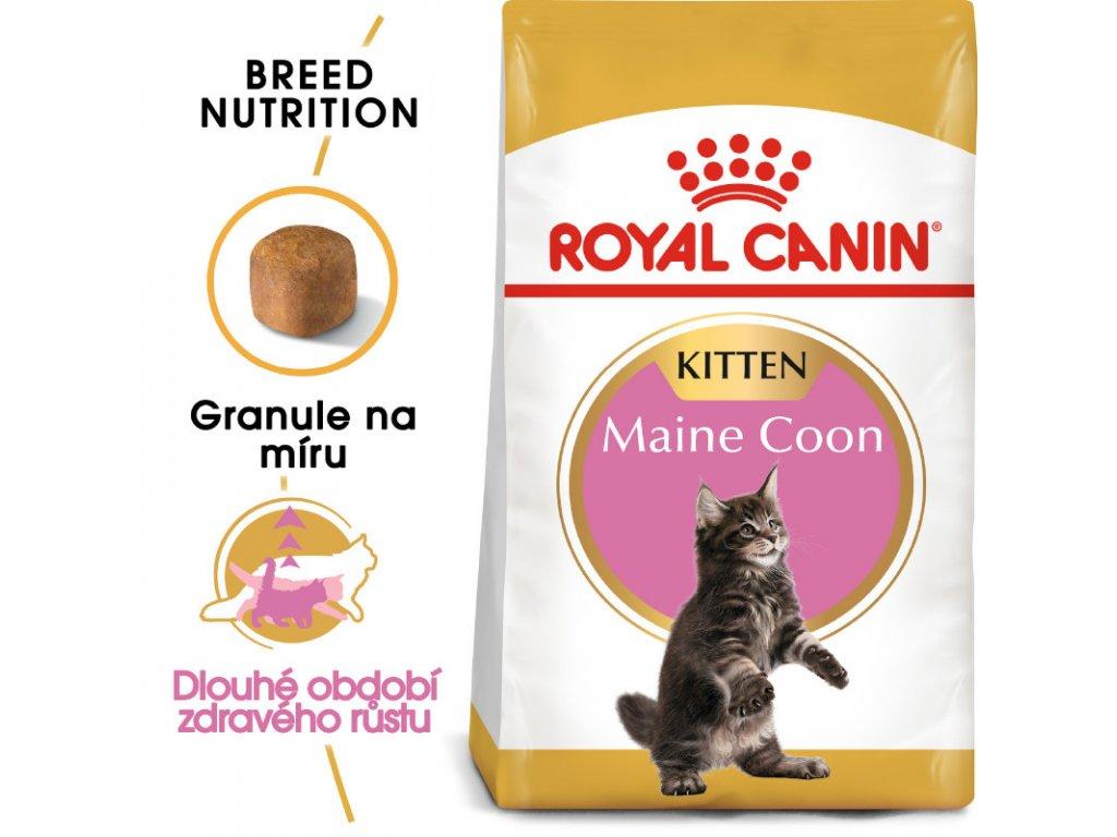 Maine Coon Kitten granule pro mainská mývalí koťata 2000g