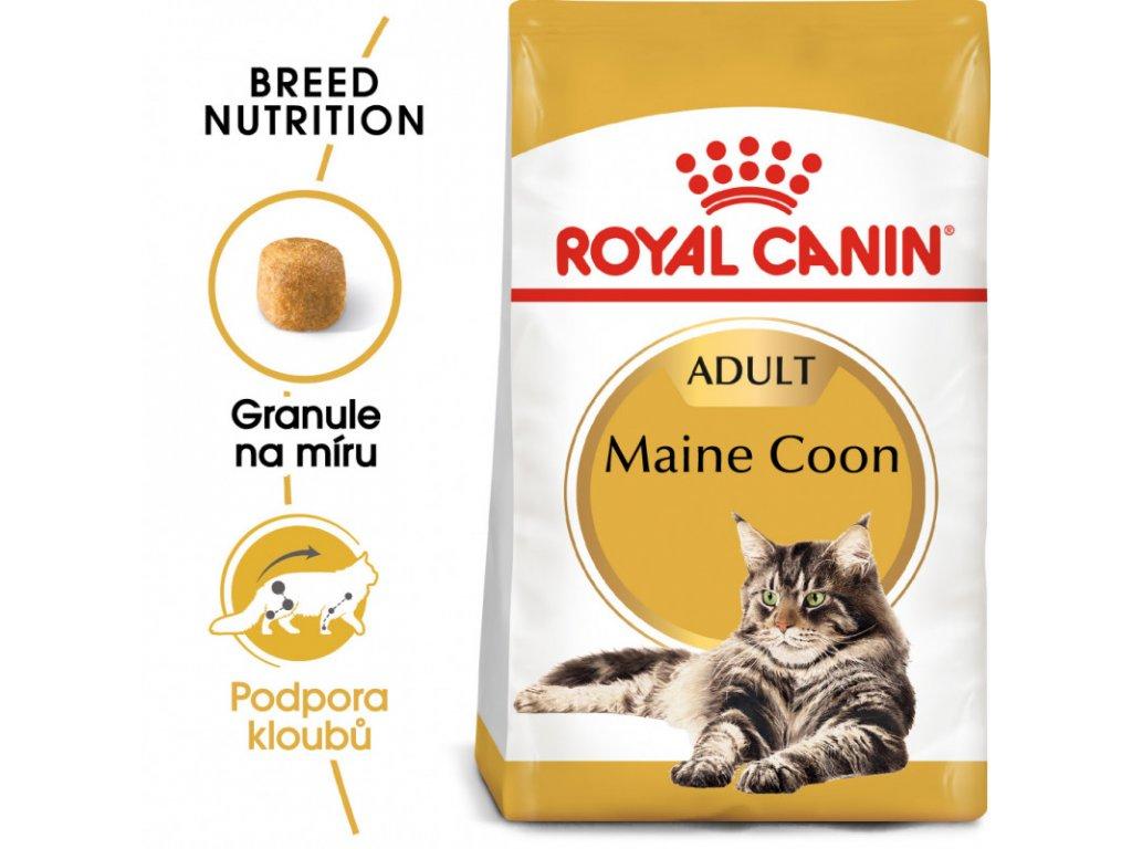 Maine Coon Adult granule pro mainské mývalí kočky 2000g