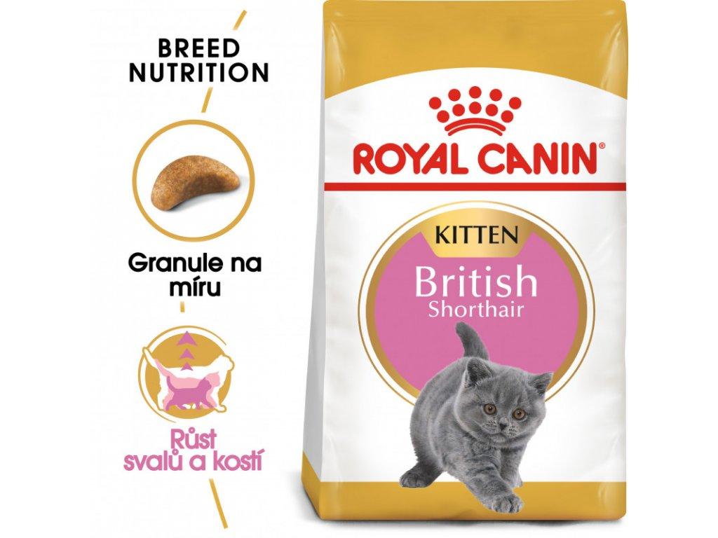 British Shorthair Kitten granule pro britská krátkosrstá koťata 400g