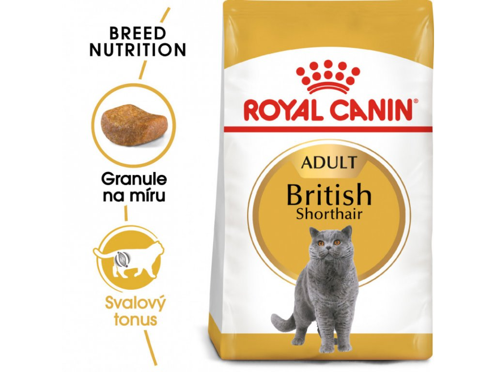 British Shorthair Adult granule pro britské krátkosrsté kočky 2000g