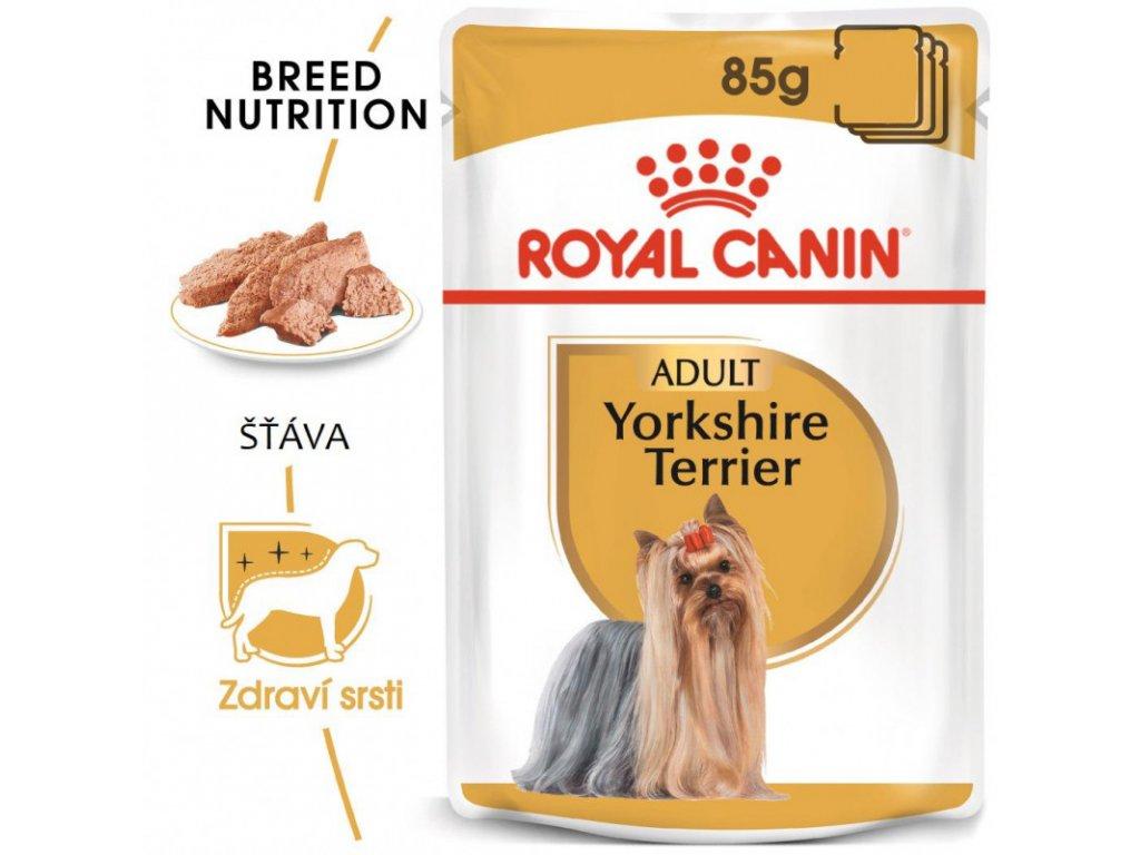 Yorkshire Loaf kapsička s paštikou pro jorkšíra 90g
