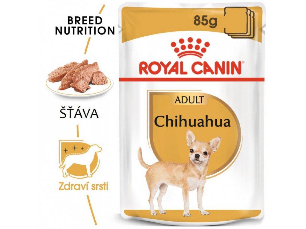 Chihuahua Loaf kapsička s paštikou pro čivavu 90g