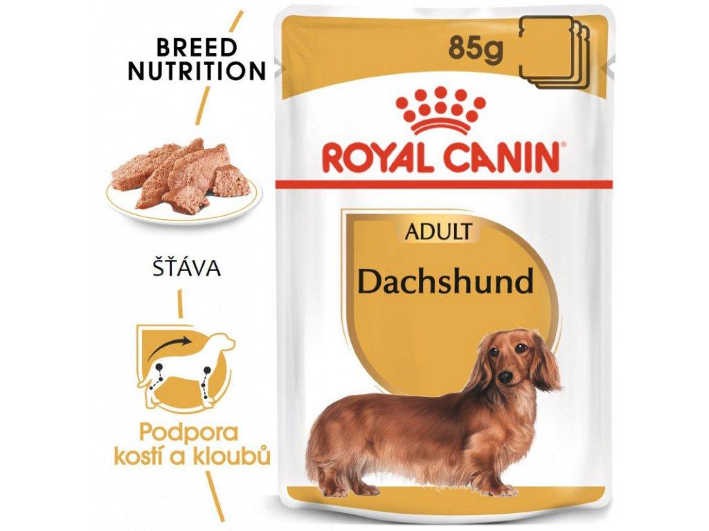 Dachshund Loaf kapsička s paštikou pro jezevčíka 90g