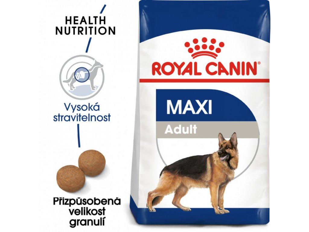 Maxi Adult granule pro dospělé velké psy 4000g