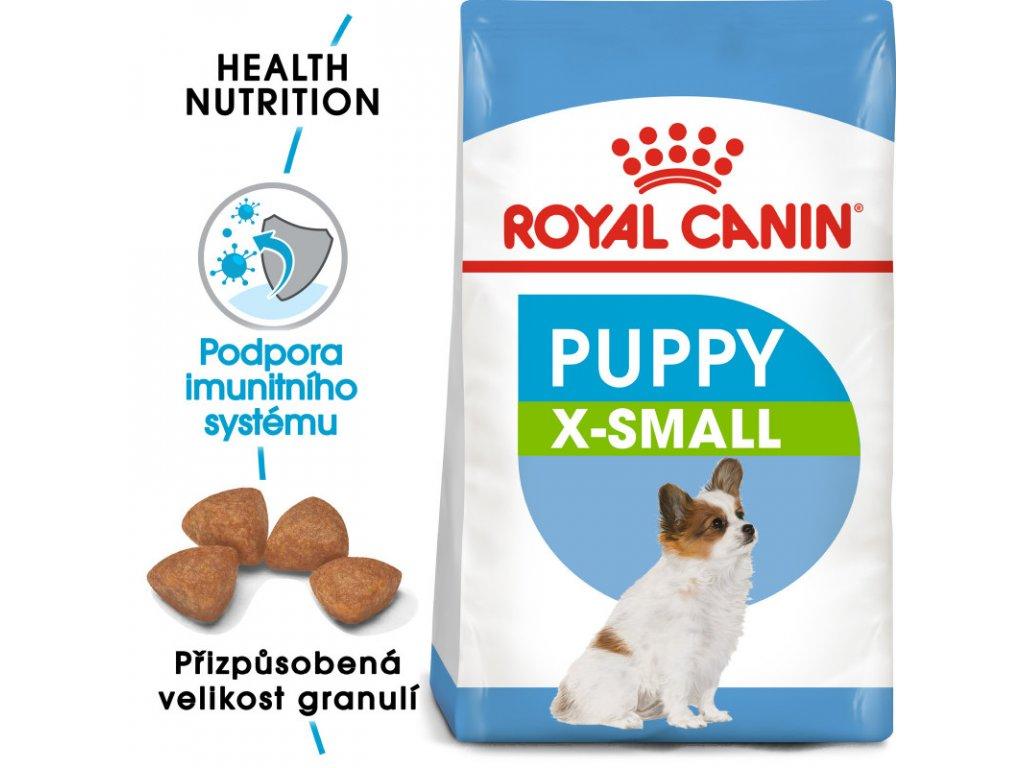 X-Small Puppy granule pro trpasličí štěňata 1500g