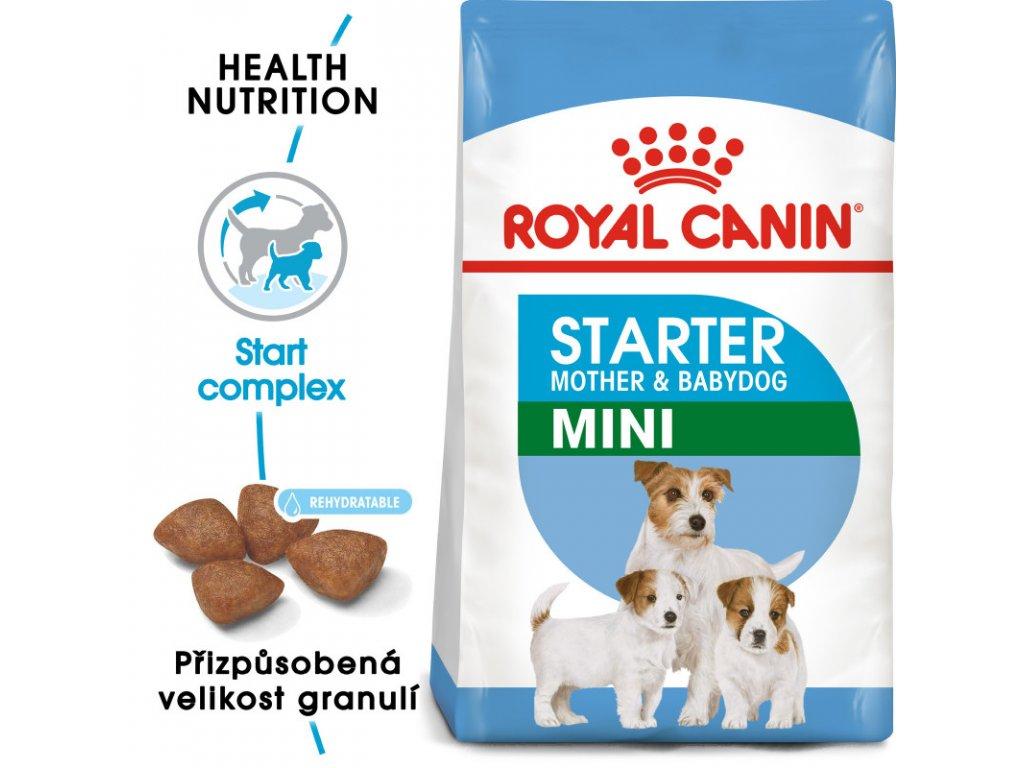 Mini Starter Mother&Babydog granule pro březí nebo kojící feny a štěňata 1000g