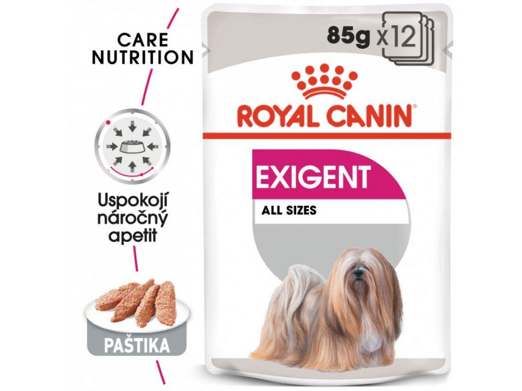 Exigent Dog Loaf kapsička s paštikou pro mlsné malé psy 90g