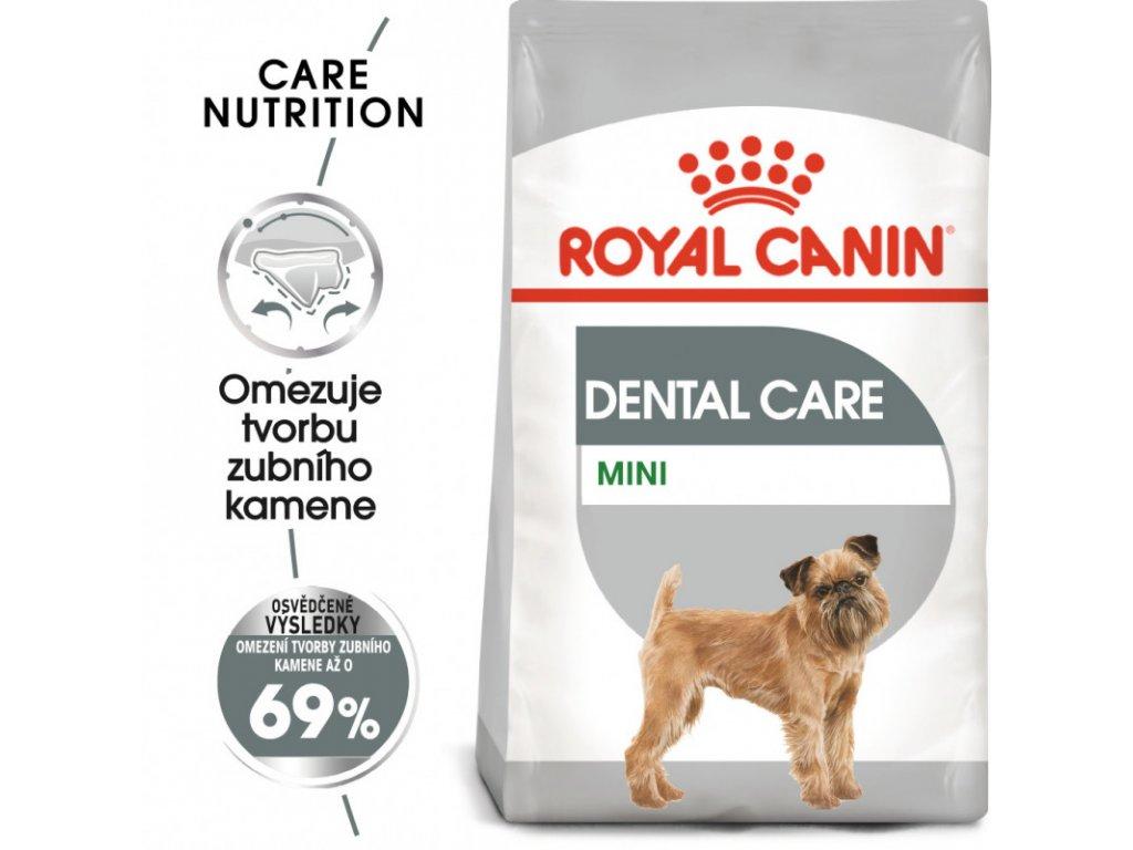 Mini Dental Care granule pro psy snižující tvorbu zubního kamene 1000g