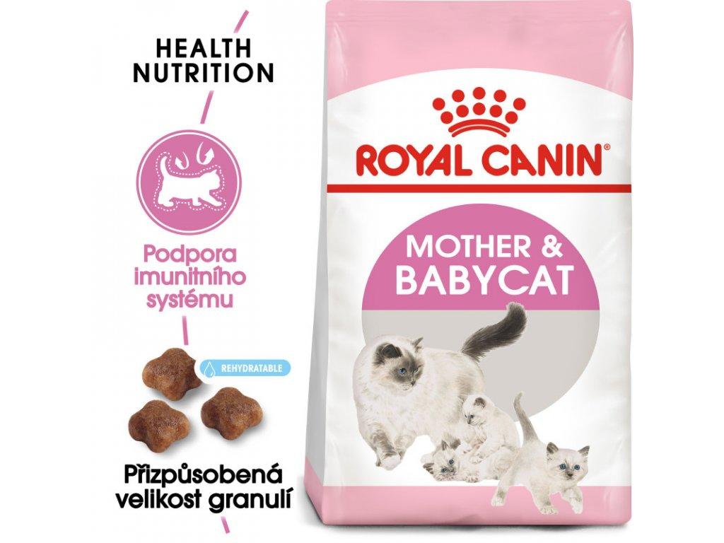 Mother&Babycat granule pro březí nebo kojící kočky a koťata 2000g