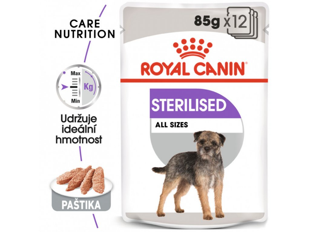 Sterilised Dog Loaf kapsička s paštikou pro kastrované psy 90g