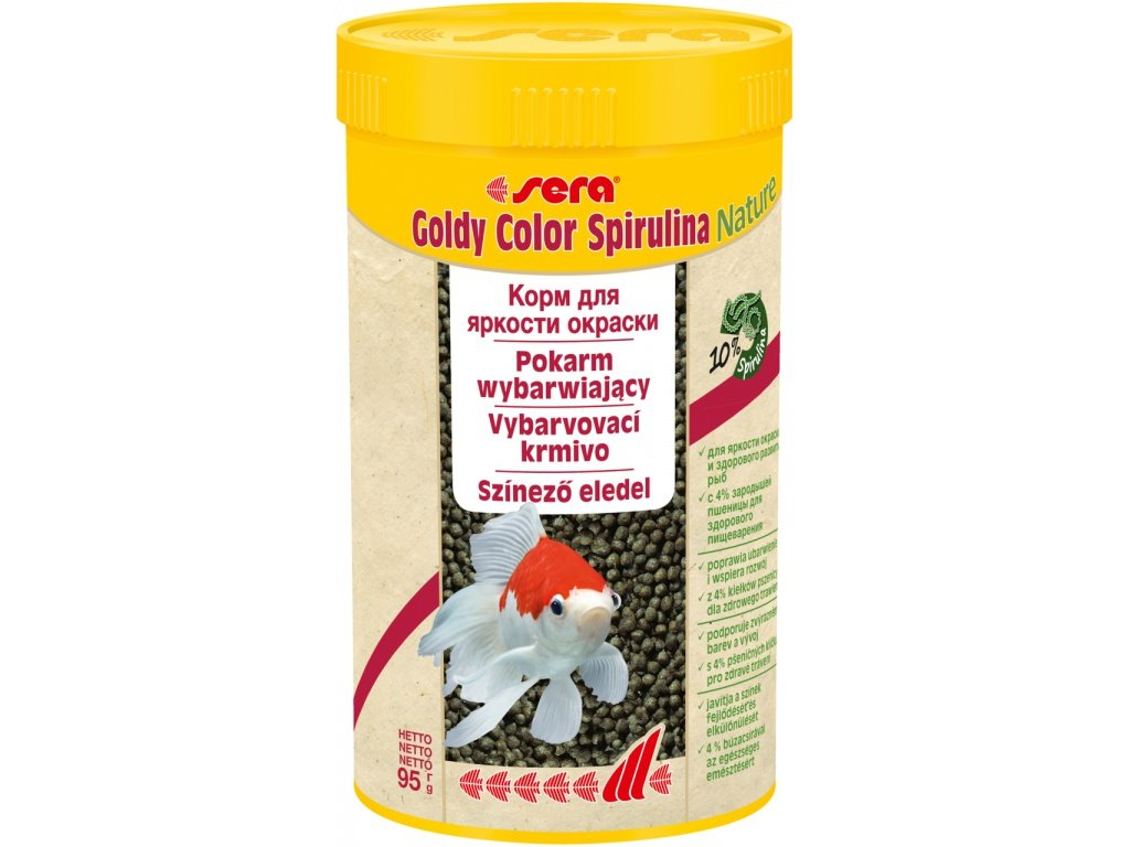 Goldy color spirulina Nature 250 ml