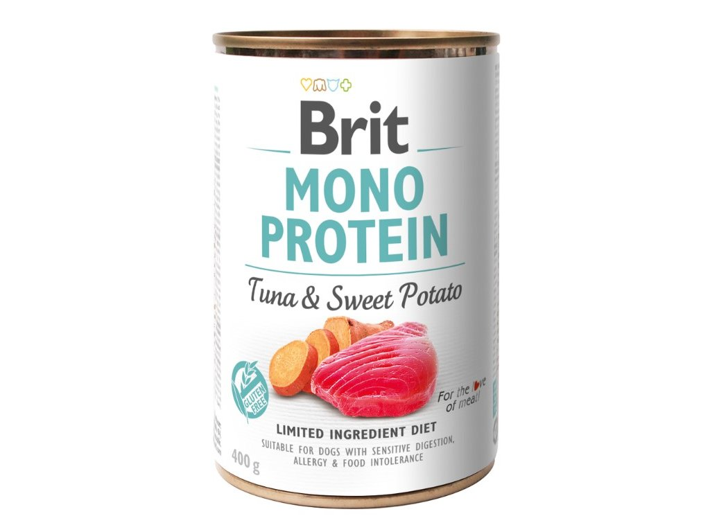 8088 brit mono protein tuna sweet potato 400g 5 1 zdarma