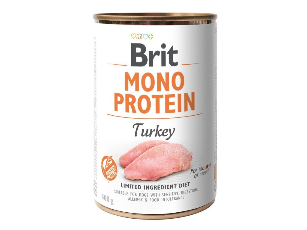 8094 brit mono protein turkey 400g 5 1 zdarma