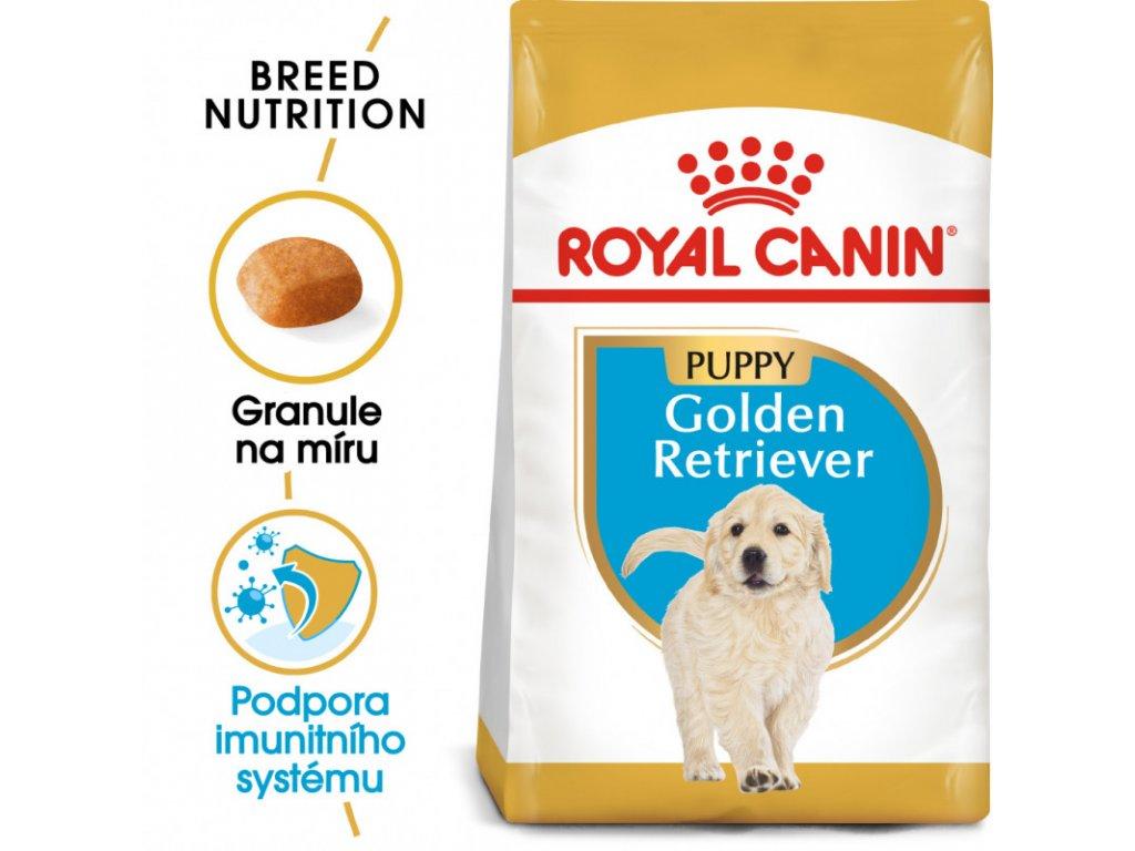 Golden Retriever Puppy granule pro štěně zlatého retrívra 12000g