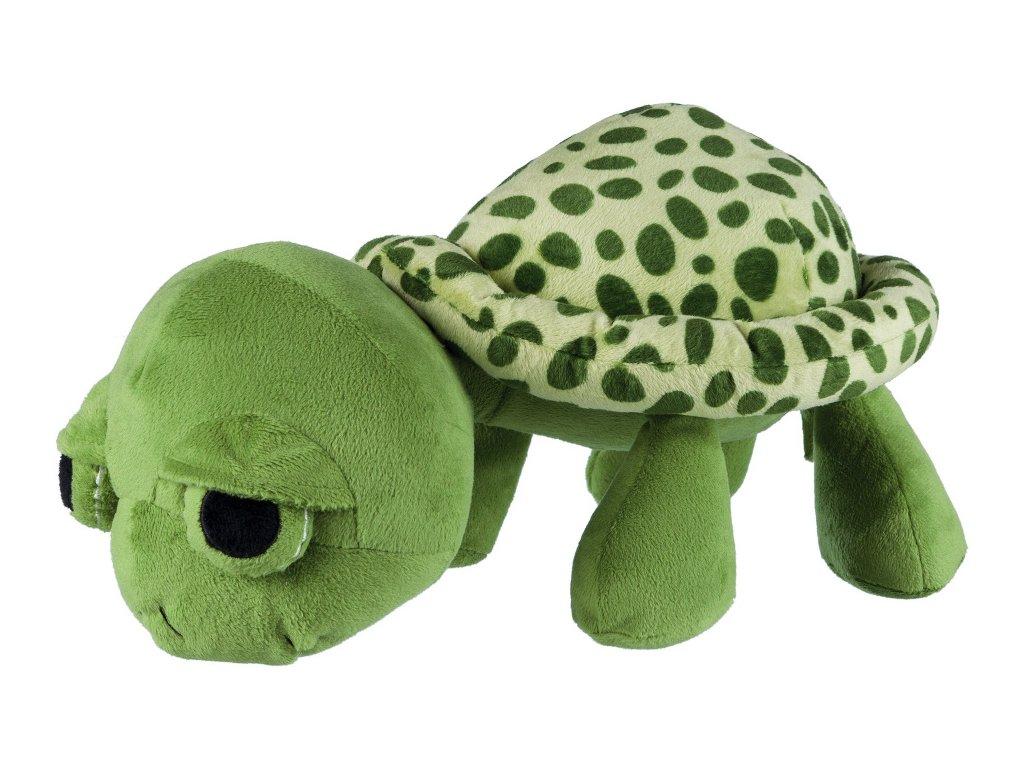 Želva plyšová, originál zvířecí zvuk 40 cm