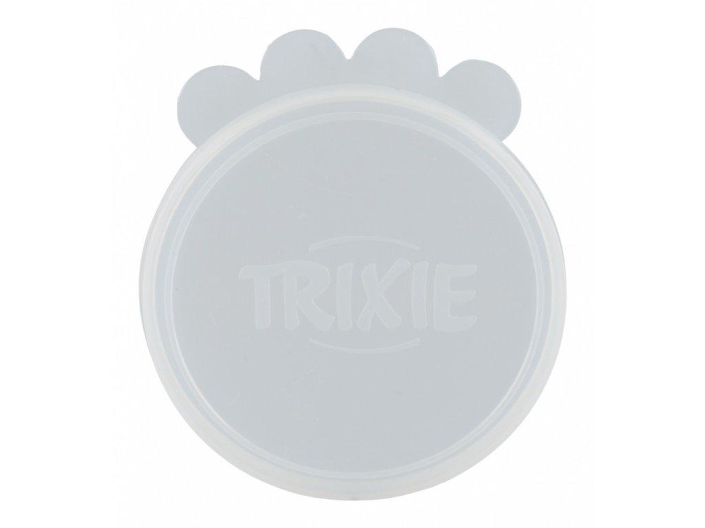 Víčko na konzervy, silikonové malé 7,6 cm/2 ks transparentní