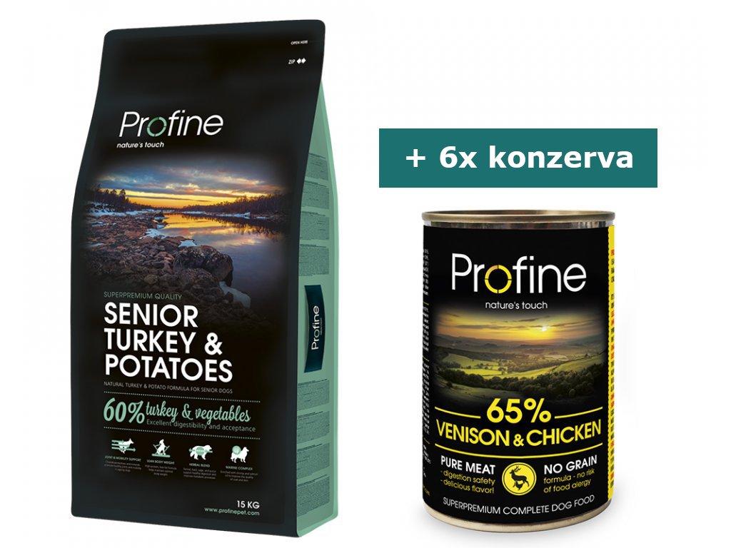 pg 37039 profine senior turkey potatoes 15kg