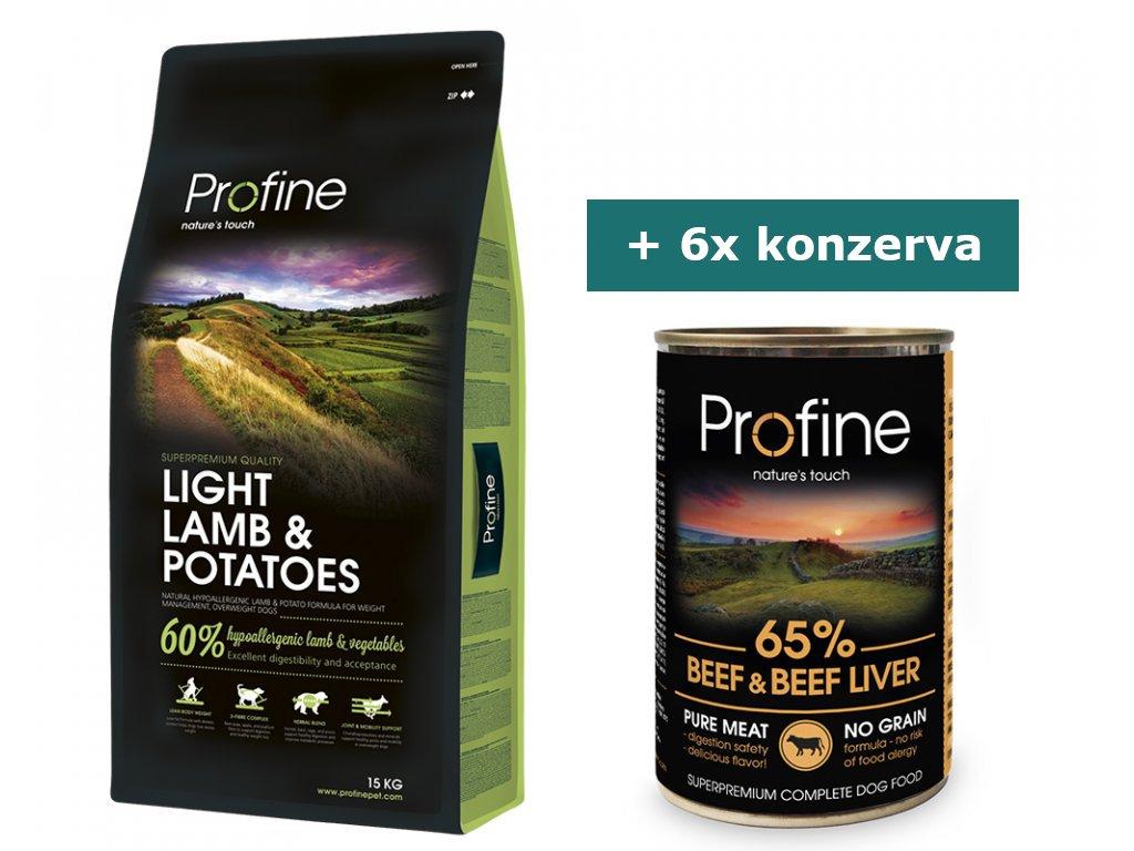 pg 37021 profine light lamb potatoes 15kg