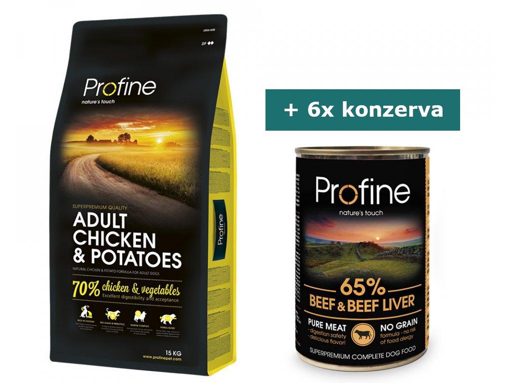 pg 36910 4 profine adult chicken potatoes 15kg