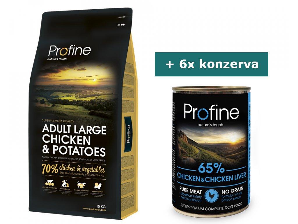 pg 36922 4 profine adult large chicken potatoes 15kg