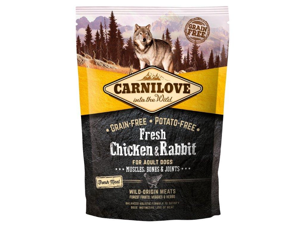 Carnilove Dog Fresh Chicken & Rabbit 1,5kg | Tenesco.cz