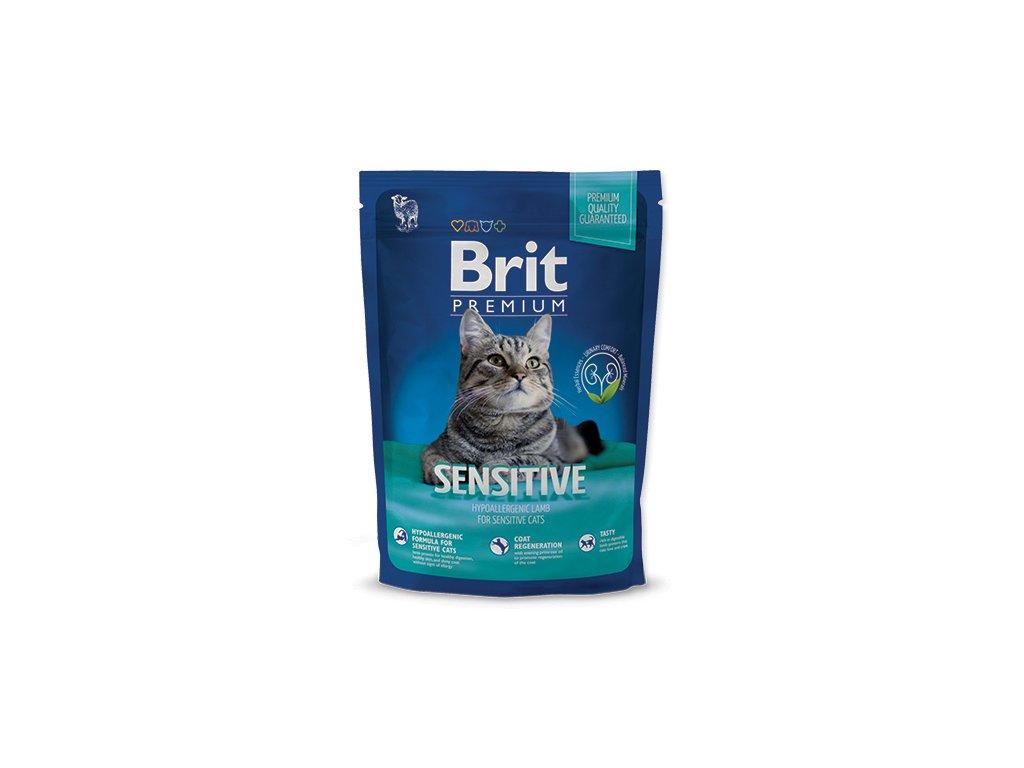 3843 new brit premium cat sensitive 300g