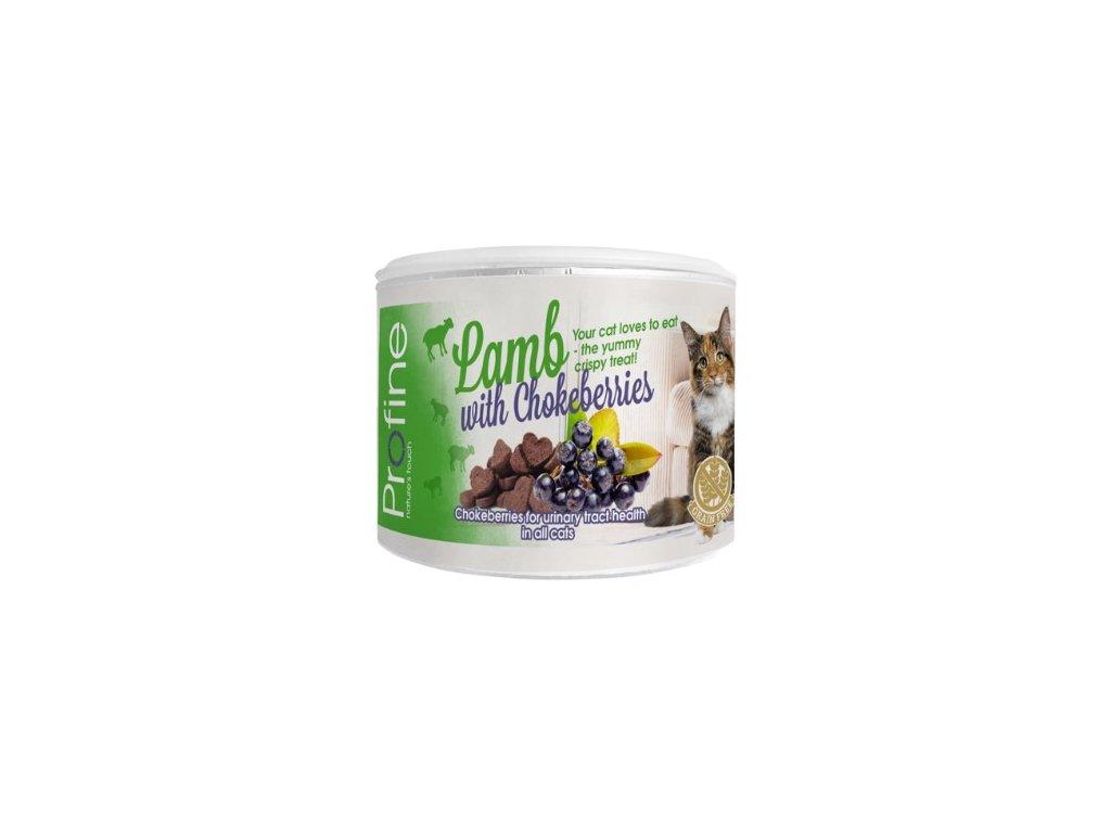 7038 profine cat crunchy snack lamb chokeberries berry 50g