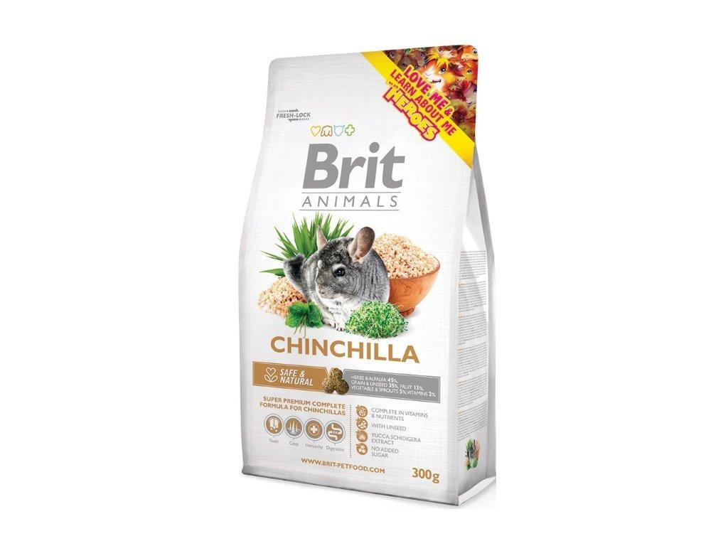 2751 brit animals chinchila complete 300g