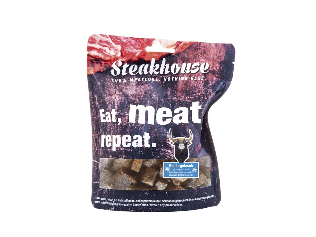 STEAKHOUSE BEEF CHUNKS 40g
