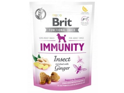 7608 brit care dog functional snack immunity insect 150g
