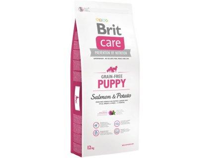 3549 brit care grain free puppy salmon potato 12kg