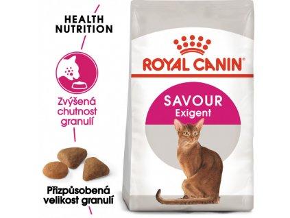 Savour Exigent granule pro mlsné kočky 2000g