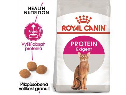 Protein Exigent granule pro mlsné kočky 2000g