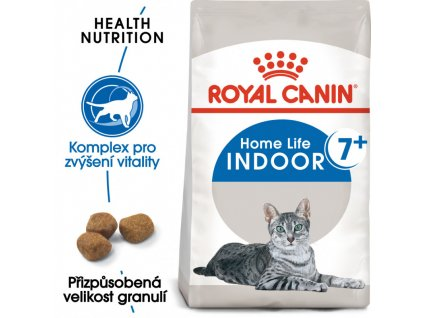 Indoor 7+ granule pro stárnoucí kočky žijící uvnitř 400g