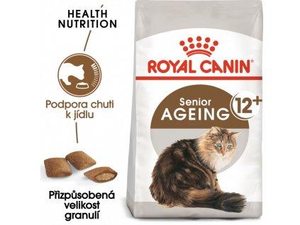 Ageing 12+ granule pro staré kočky 2000g
