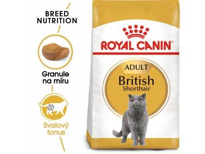British Shorthair Adult granule pro britské krátkosrsté kočky 400g