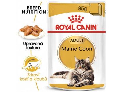 Maine Coon Loaf kapsička s paštikou pro mainské mývalí kočky 90g