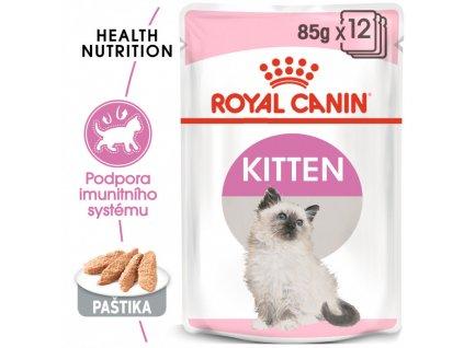 Kitten Instinctive Loaf kapsička s paštikou pro koťata 90g