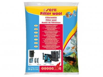 Filtrační vata bílá 100 g