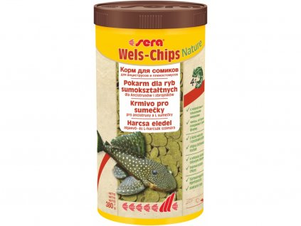 Wels Chips Nature 1000 ml
